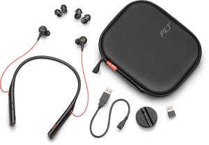 Plantronics Voyager 6200 headset, sort